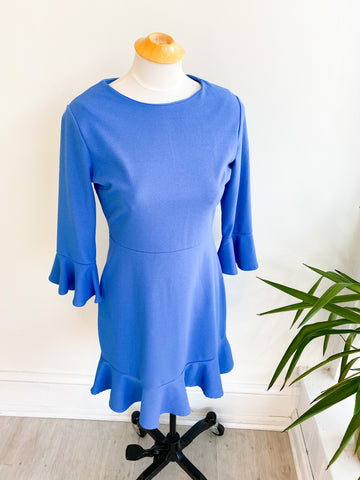 Joelle Ruffle Sleeve Dress