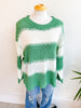 Opportunity Stripe Knit Sweater