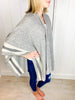ChaCha Stripe Trim Cape