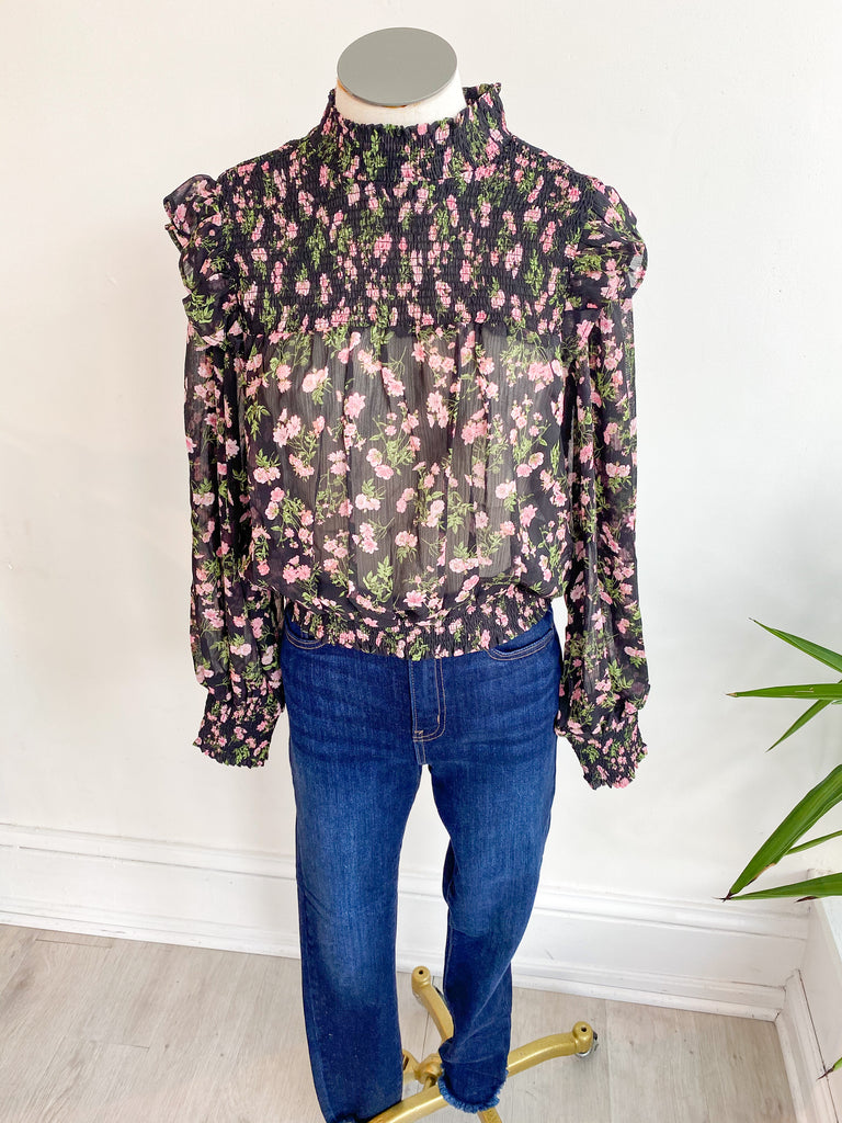 Forget Yesterday Floral Top