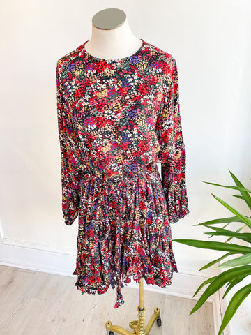 Niko Painted Floral Dress