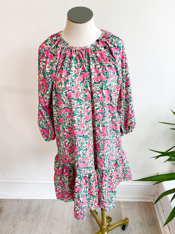 Roo Floral Babydoll Dress
