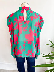 Something Different Colorful Blouse