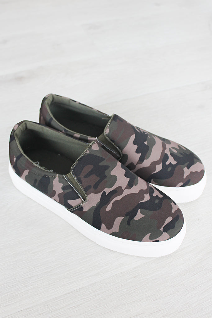 Urban Girl Sneakers - Camo