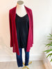 The Lightweight Natalie Cardigan - Wine