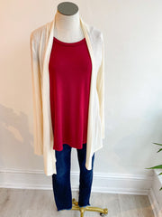 The Lightweight Natalie Cardigan - Ivory