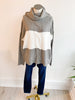 All the Best Colorblock Sweater - Grey
