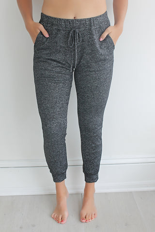 Every Day and Night Joggers - Charcoal
