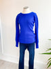 All I've Ever Wanted Sweater - Cobalt Blue