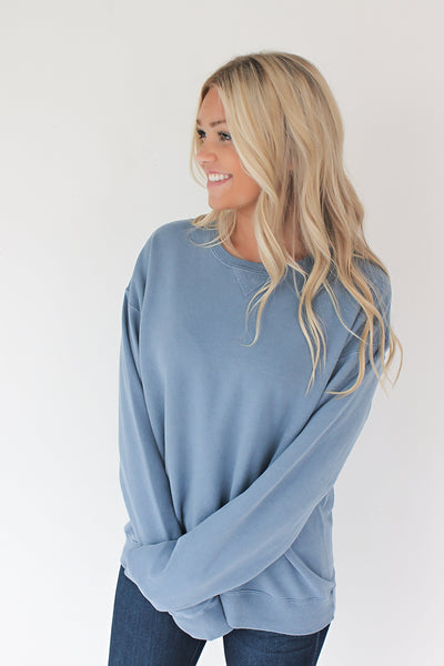 Down in the Sand Cotton Pullover