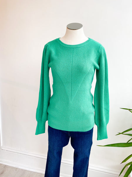 All I've Ever Wanted Sweater - Holly Green