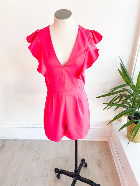 Truly Yours Ruffle Romper