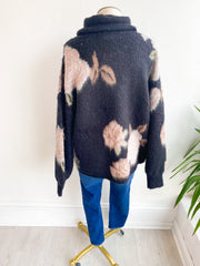 On a Different Page Floral Sweater