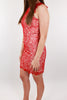 Red as a Rose Lace Dress
