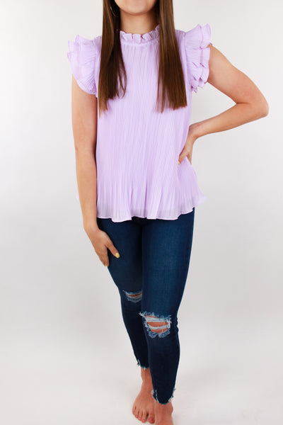 Collide Pleated Swing Top