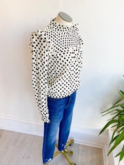 Out of the Norm Polka Dot Top