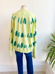 Legally Blonde Tie Dye Sweatshirt - Pistachio