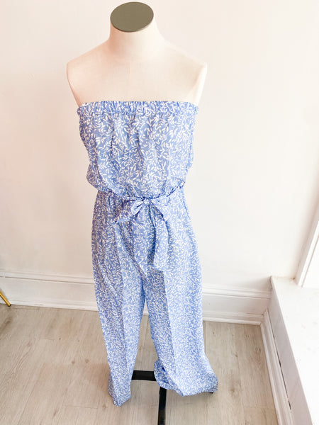 Golden Gate Strapless Jumpsuit
