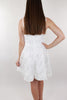 Great Escape Open Back Dress - White
