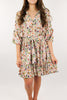 All My Life Floral Dress