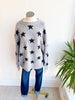 Star Gazer Sweater - Grey/Black
