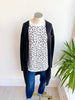 Celia Pocket Cardigan - Black