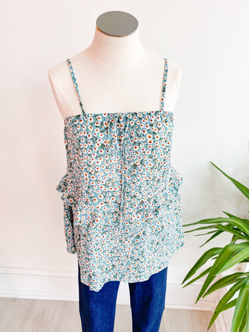 Summer Weekend Floral Top