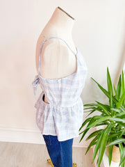 Alexa Back Detail Top