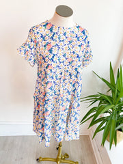 Blooming Floral Babydoll Dress