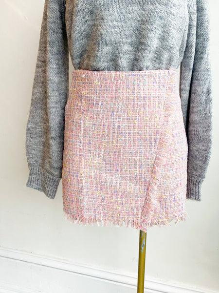 On the Hunt Tweed Skirt