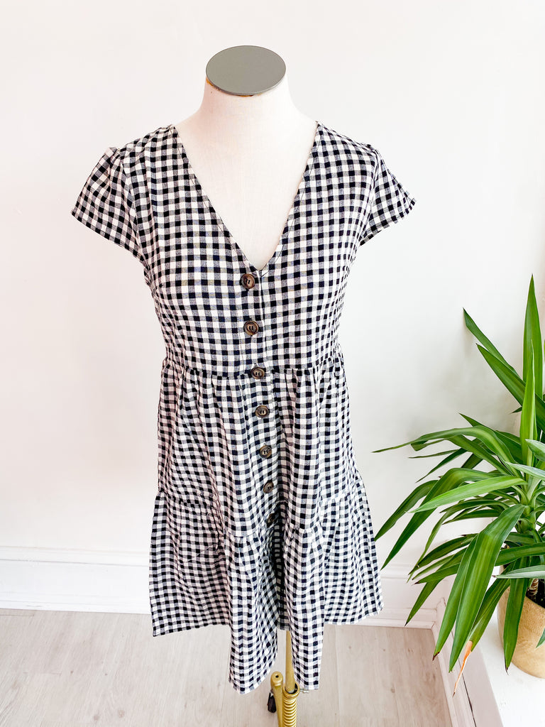 Dion Gingham Dress