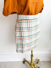 Hannah Holiday Plaid Skirt