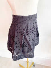 Headline Eyelet Shorts