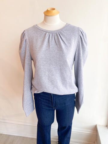 Oh, MY Darling Puff Sleeve Sweatshirt