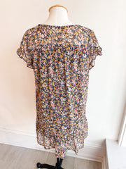Story of My Life Pocketed Floral Dress