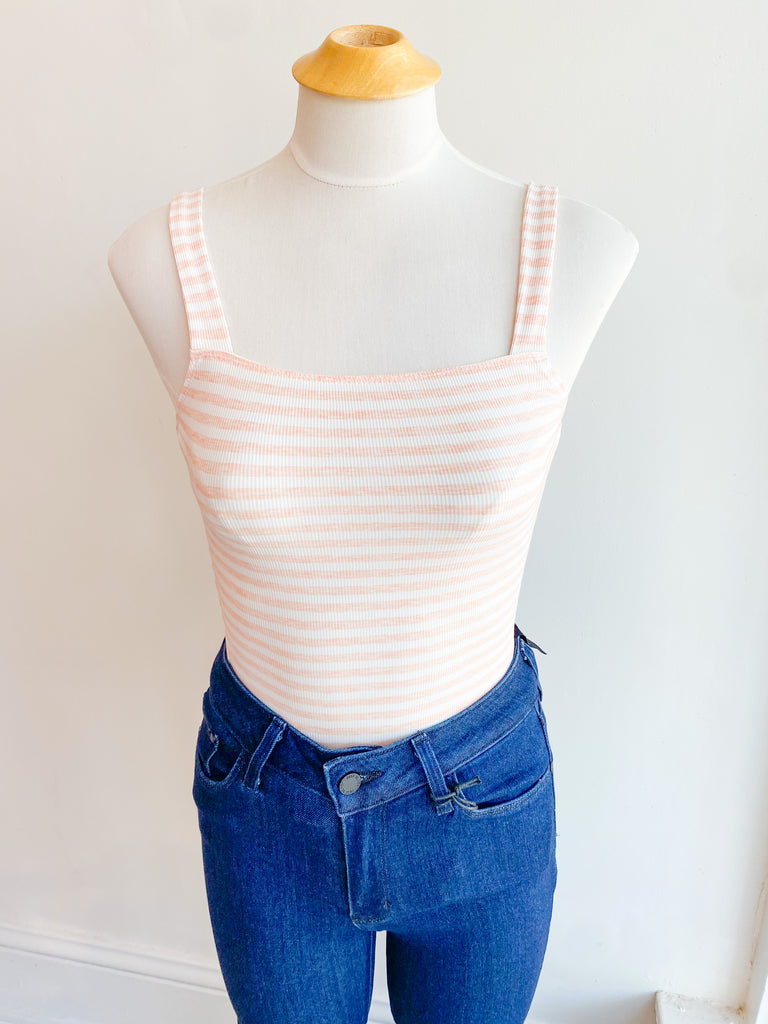 Strawberry Stripe Bodysuit