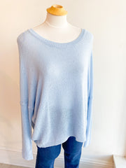 Rylee Sweater - Baby Blue