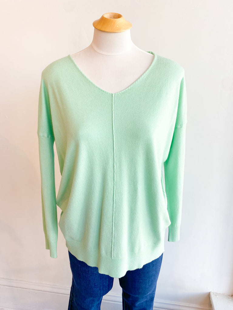 Sprung Tunic Sweater - Mint