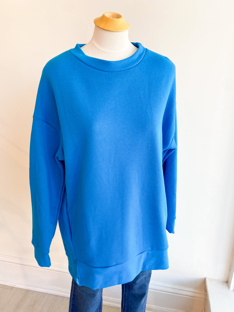 Deep Sea Oversized Sweatshirt