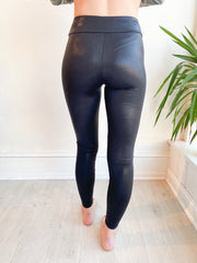 Speck Faux Leather Leggings