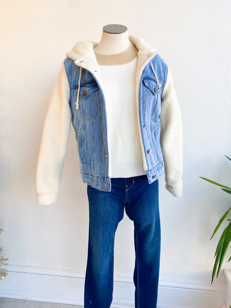Hallie Sherpa Denim Jacket