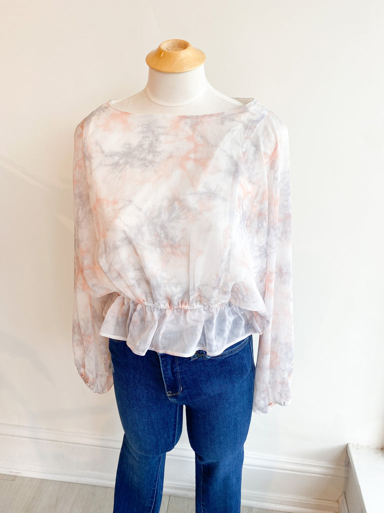 Fresh Feeling Tie Dye Top