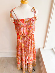 My Fair Lady Floral Maxi Dress