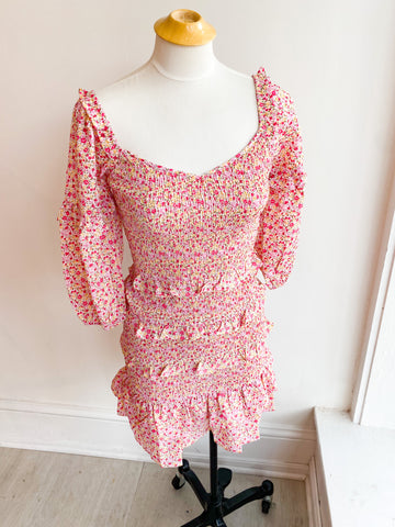 I'll Bloom Again Smocked Dress