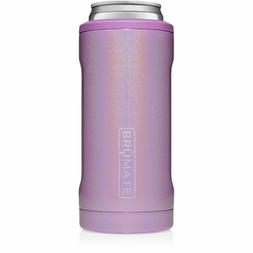 Hopsulator Slim Can Cooler Glitter - Violet