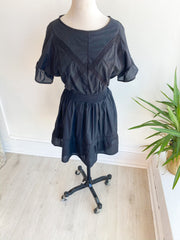 Brodie Ruffle Smocked Waist Dress