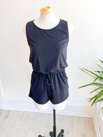 All Day Everyday Romper - Black