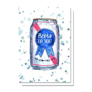 Evelyn Henson - Beers to You Card