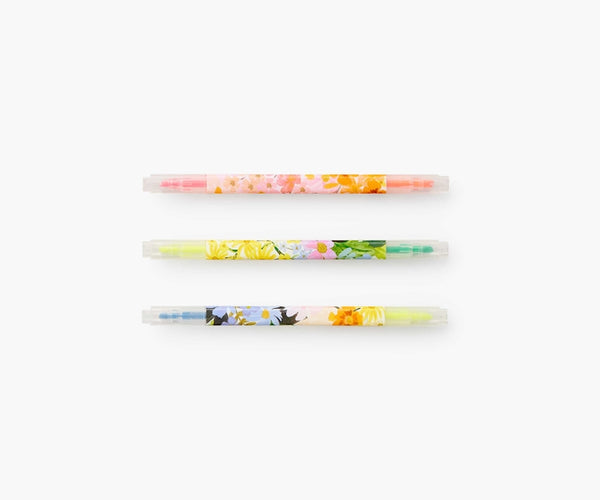 Rifle Paper Marquerite Highlighter Set
