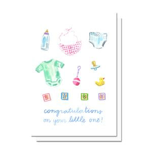 Evelyn Henson Card - Congrats on your Little One